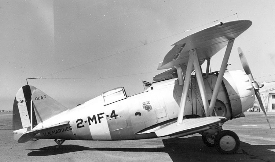 Grumman_F3F-1_Marines_(4568514512)