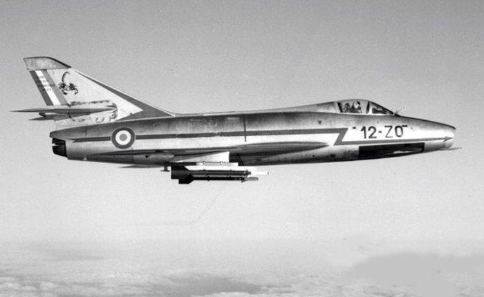 Dassault Super Mystere, primer supersónico de serieeuropeo