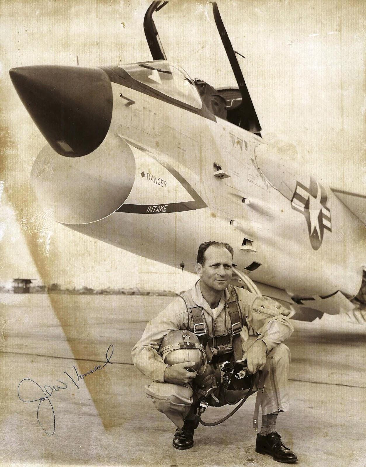 john W konrad Vough test pilot