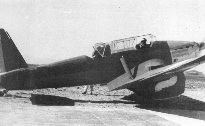 Loire-Nieuport 140, bombardeo en picado a lafrancesa