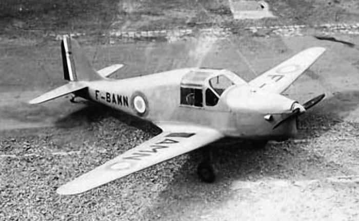 SO.3050, primero en volar tras laliberación