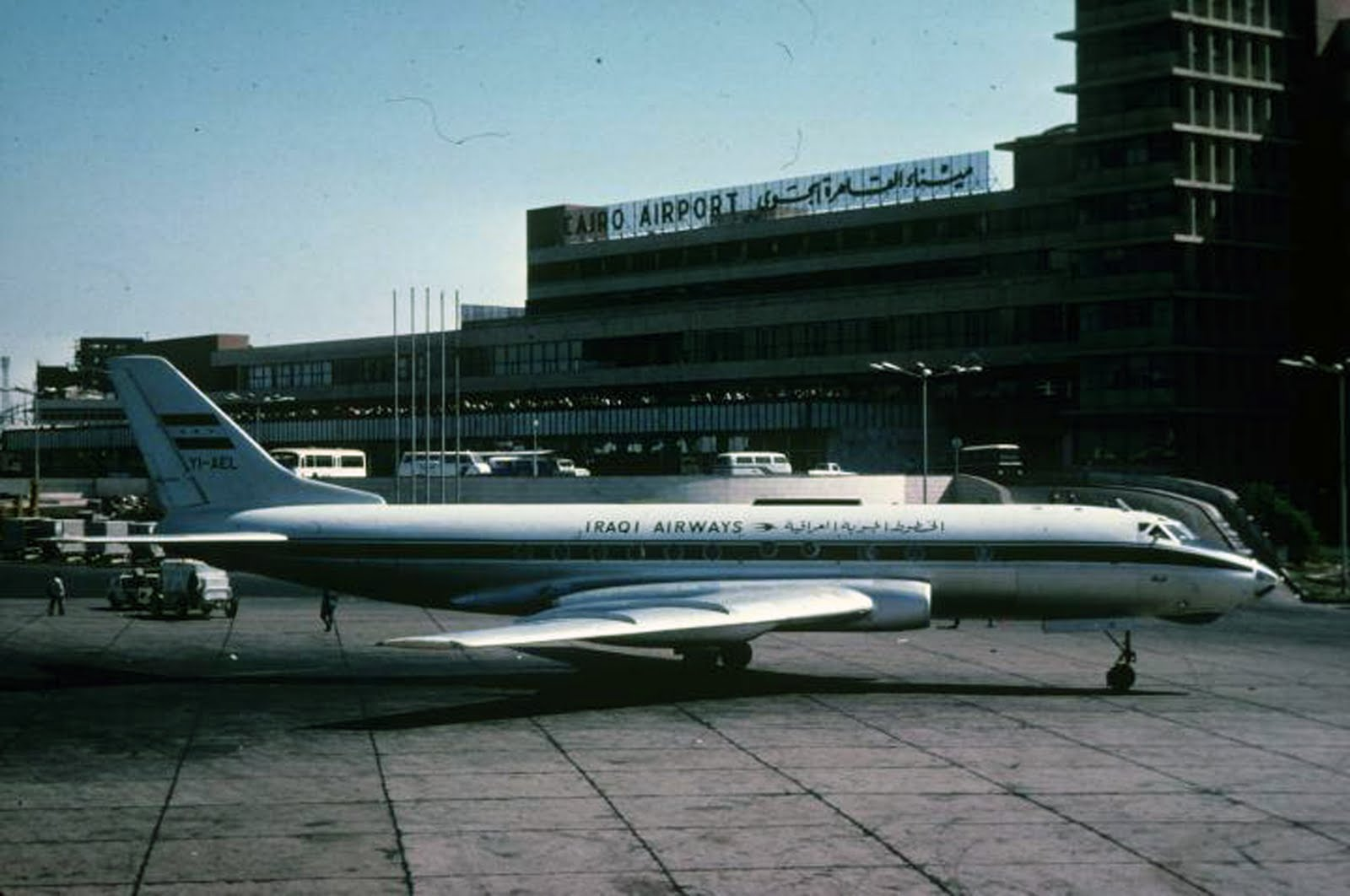 TU-124 YI-AEL IRAQI AIRWAYS EL CAIRO