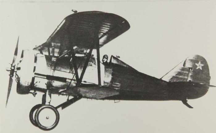 Polikarpov I-5, nacido en lacárcel