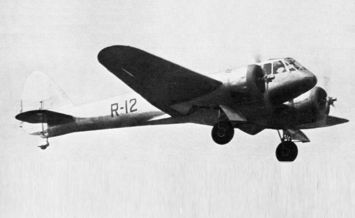 Bristol 142, de transporte personal abombardero