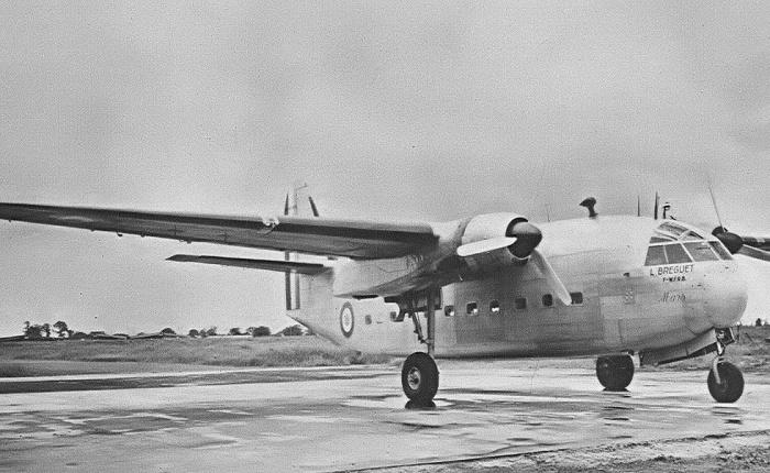 Breguet 890, tres aviones en tres versionesdistintas