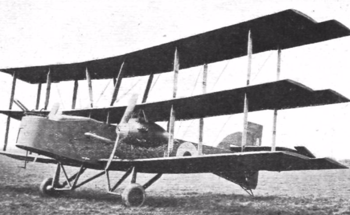 Nieuport London, llegó tarde paracombatir