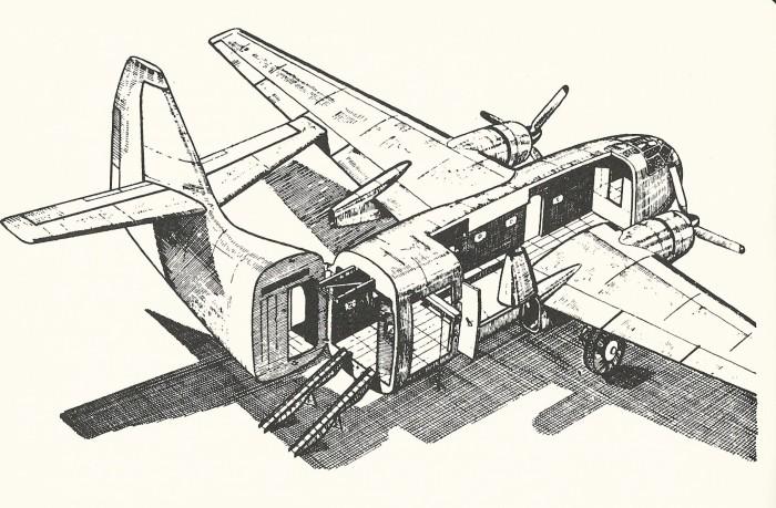 Open cargo br 890
