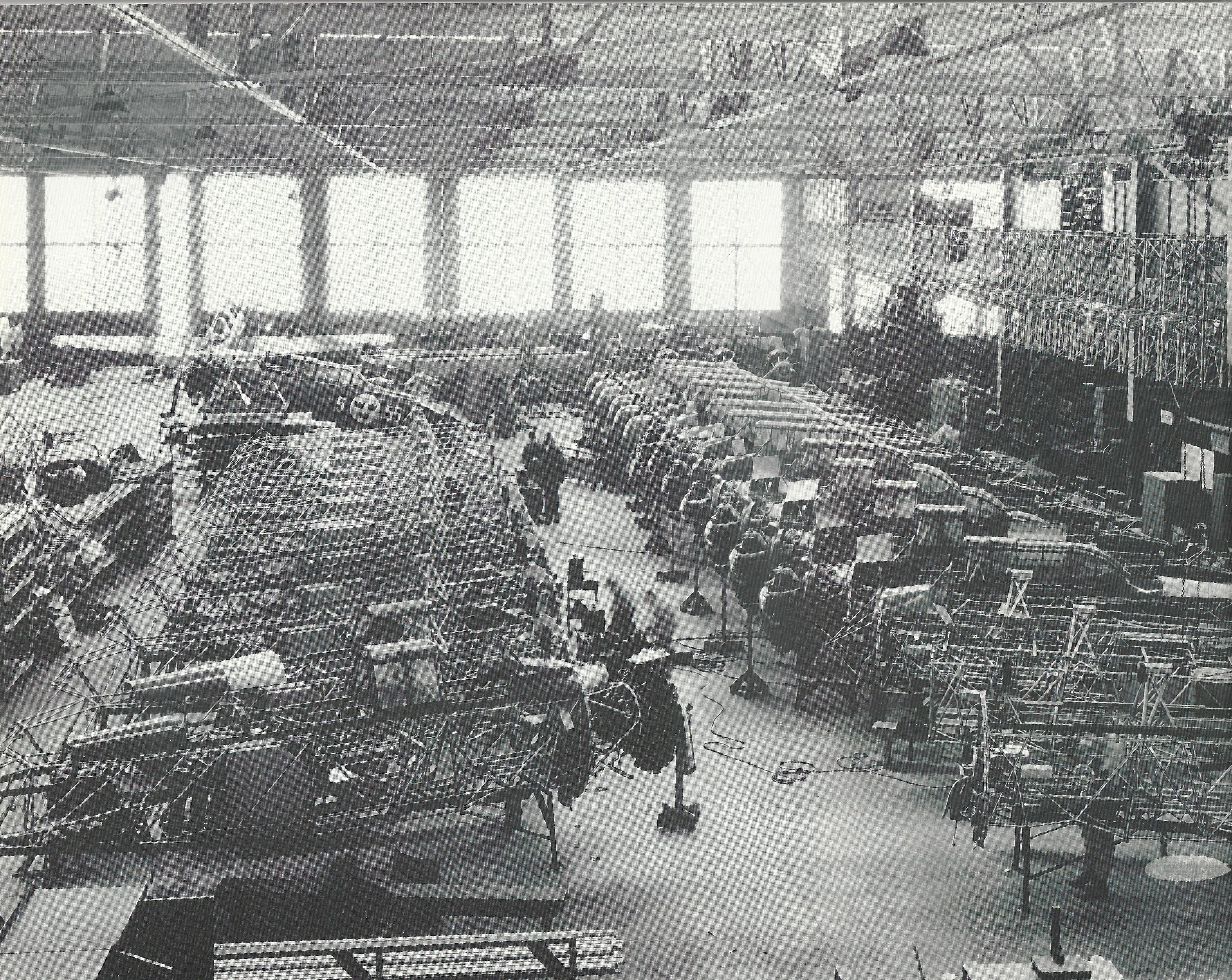 producción BT-9