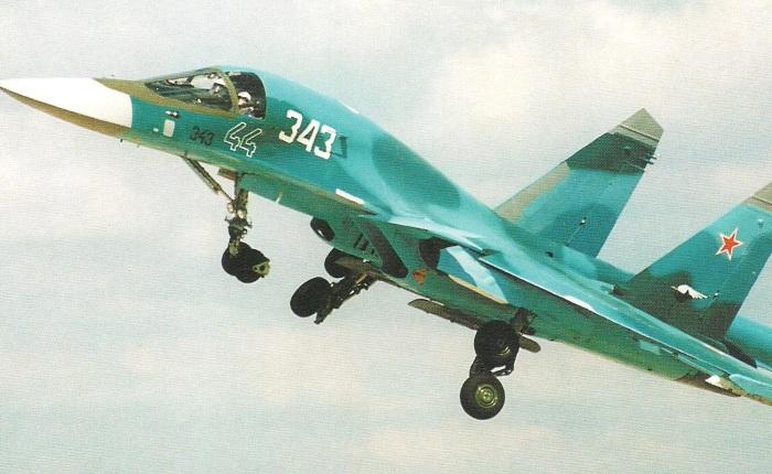 "Sukhoi 34, un bombardero con ""nariz depato"""