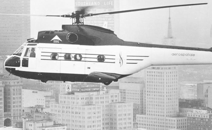 Primer vuelo del AerospatialePuma