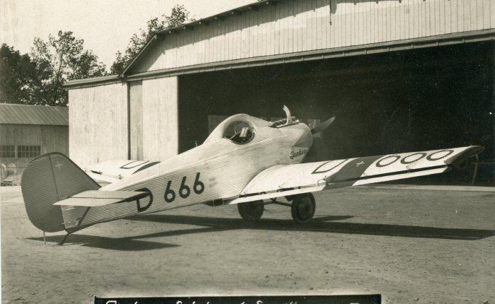 Junkers T.29, un entrenador para probar nuevosconceptos
