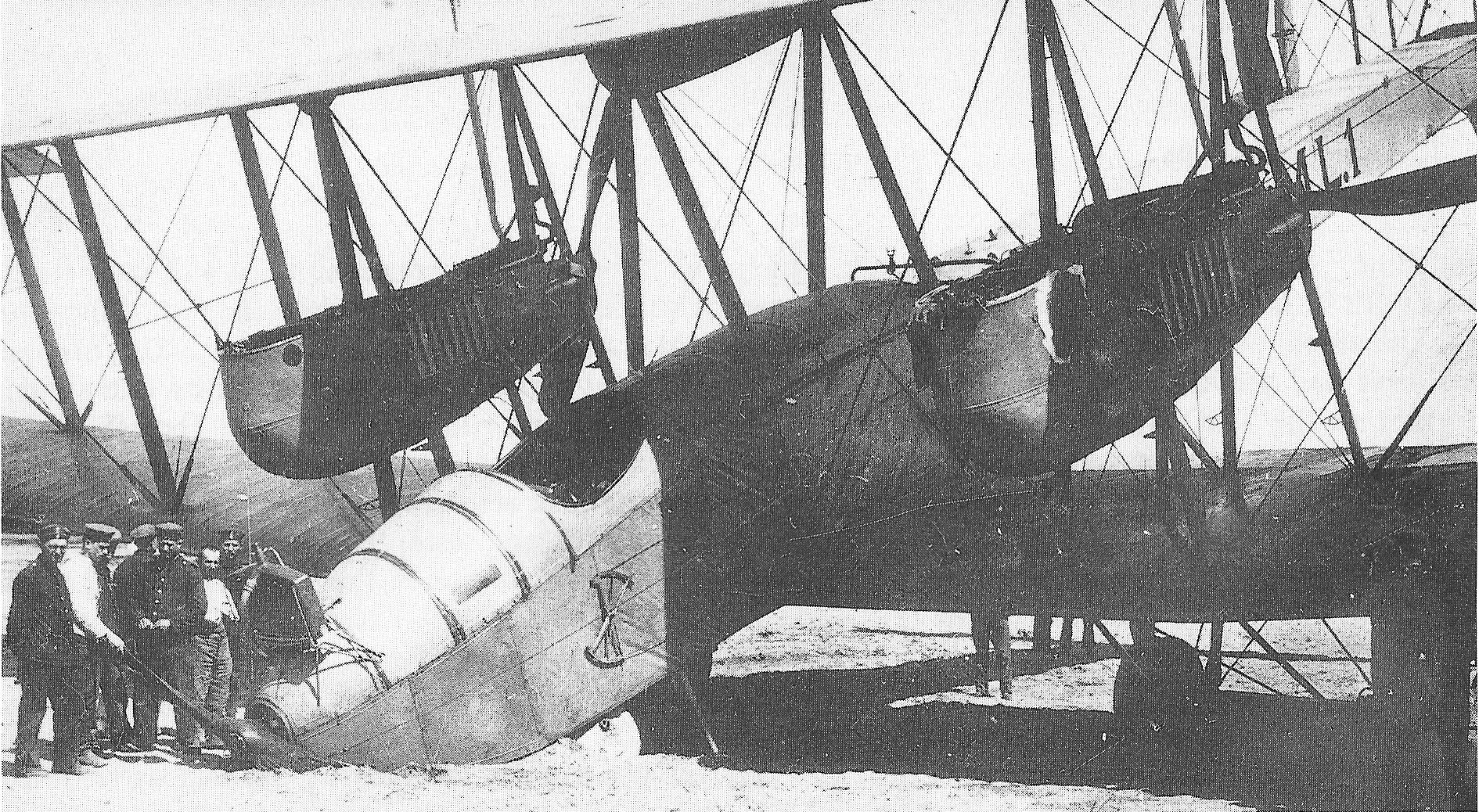 VGO 1 accidente en despegue junio 1916