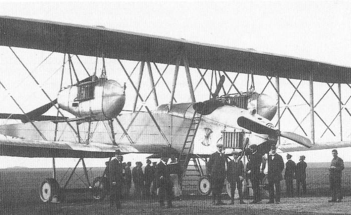 VGO I, el primer bombardero gigantealemán