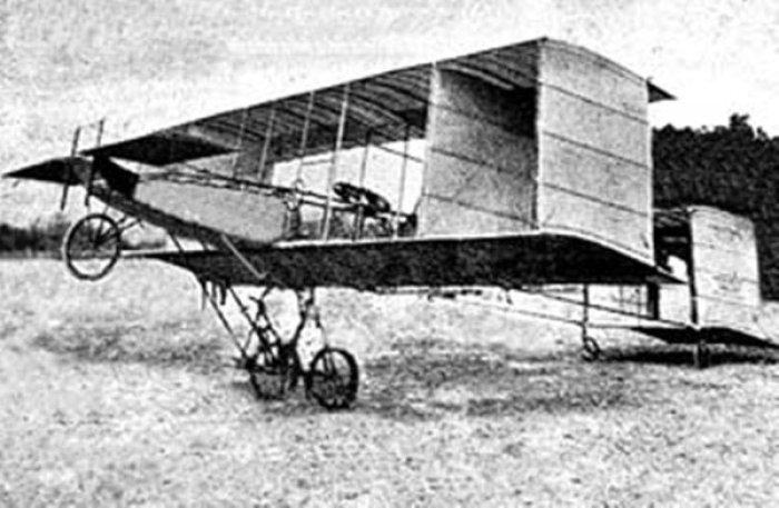 Aeroplano Voisin de Andre Bellot primer vuelo en Cuba