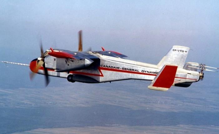 Canadair CL-84, un VTOLmultimisión