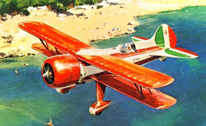 Caproni CH.1, diseño italiano, pero yaobsoleto