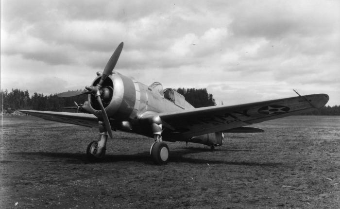 Curtiss P-36 Hawk, un caza con una vida muyagitada