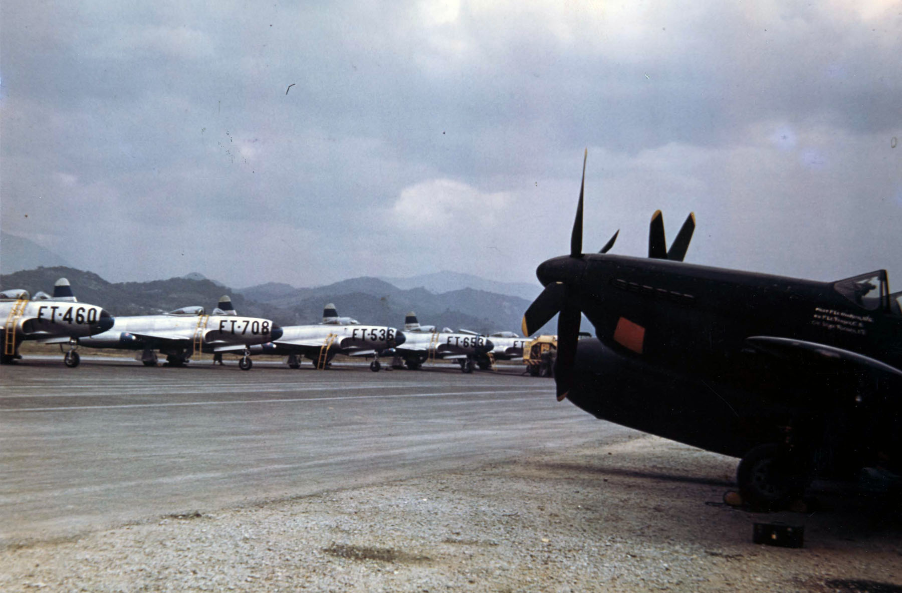 Itazuke Air Base Flightline