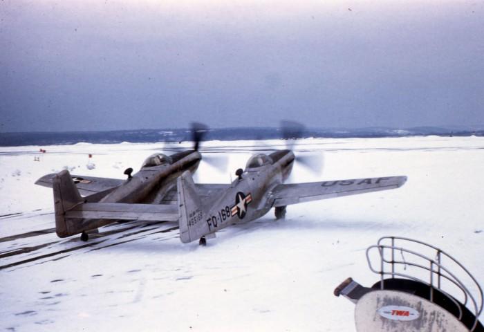 North American F-82B