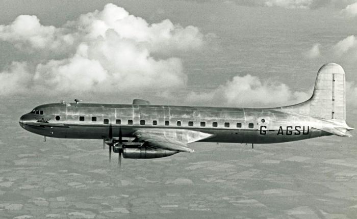 Avro Tudor, primer avión británico de líneapresurizado