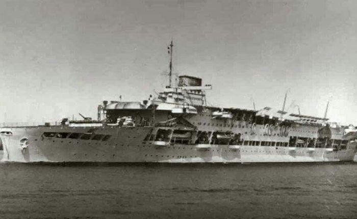 Pérdida del HMSGlorious