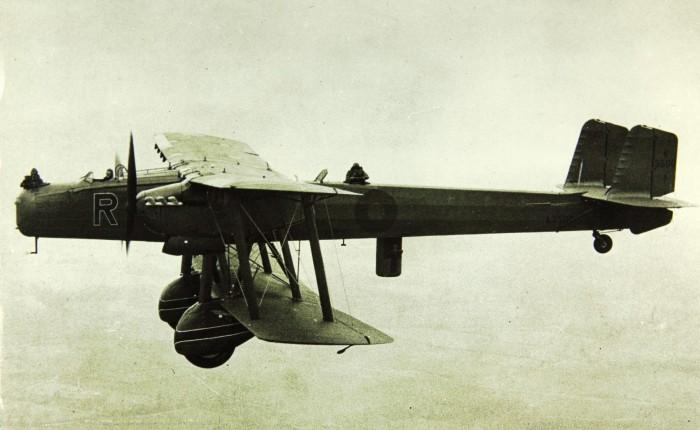 Handley Page Heyford, último bombardero biplano de laRAF