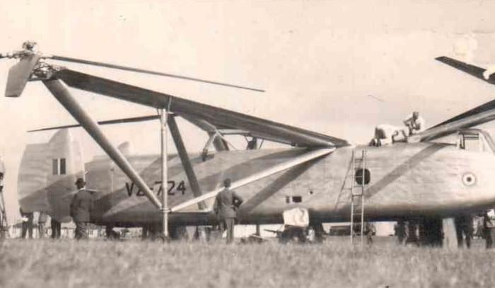 Cierva W.11 Air Horse, tres rotores y muchosproblemas
