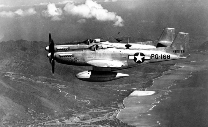 F-82 Twin Mustang, ultimo caza con motor a pistón de la FuerzaAérea