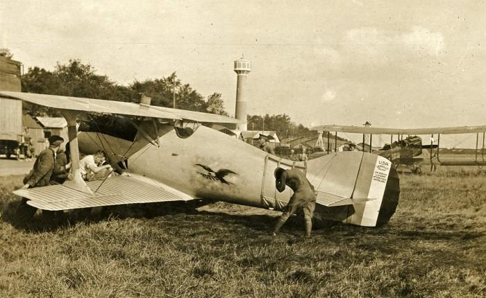 Verville VCP-1, un caza y un avión decarreras