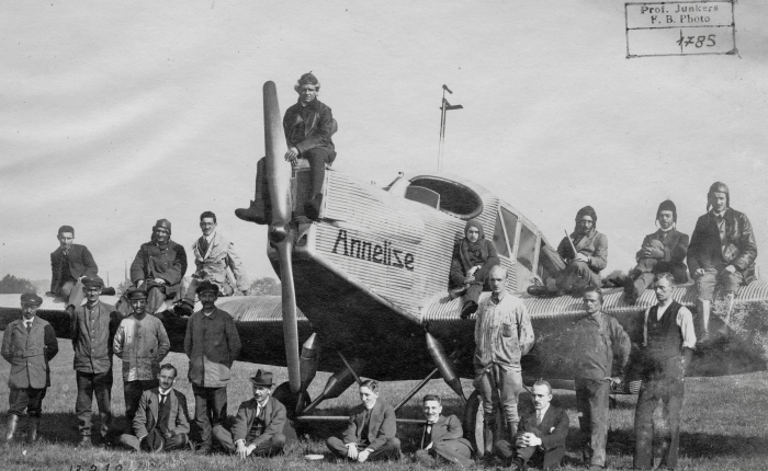 Video Junkers F13 yG24