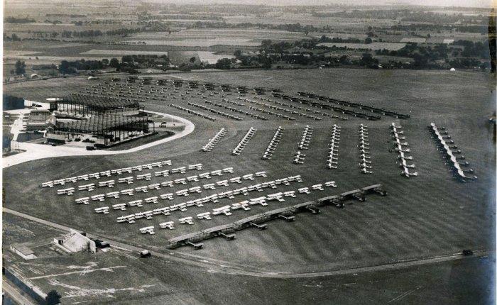 RAF Silver Jubilee, en1935