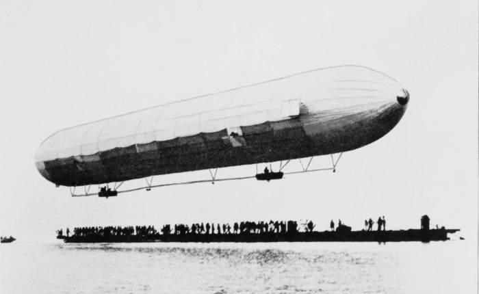 Vuela el primer Zeppelín, elLZ-1