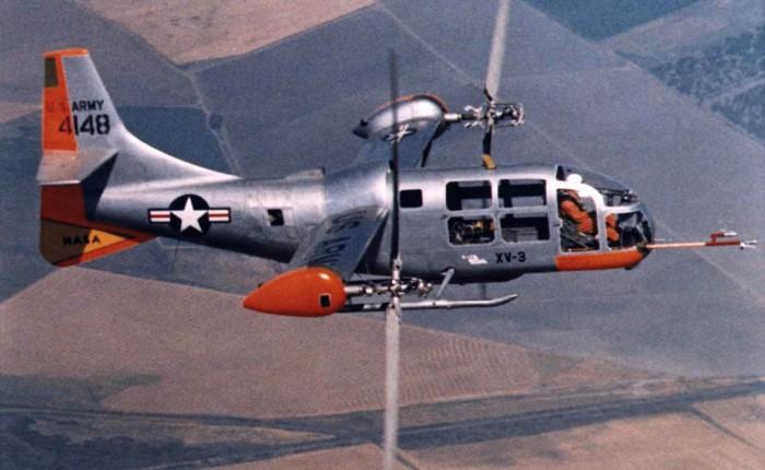 Bel XV-3, convertiplanoexperimental