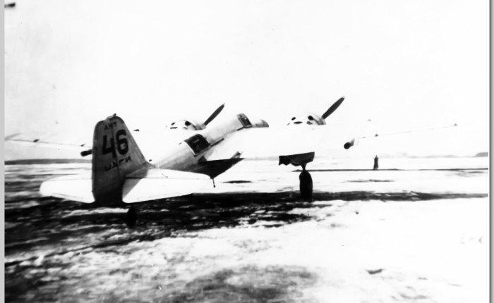 ANT-46, caza bimotor deescolta