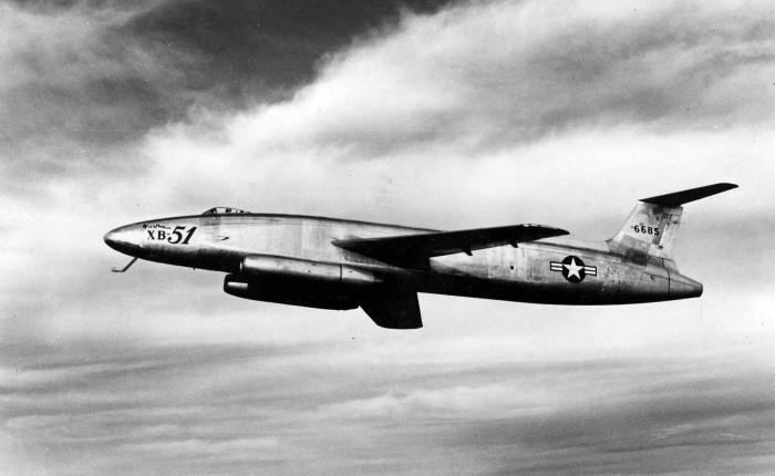 El Martin XB-51, toda una estrella decine