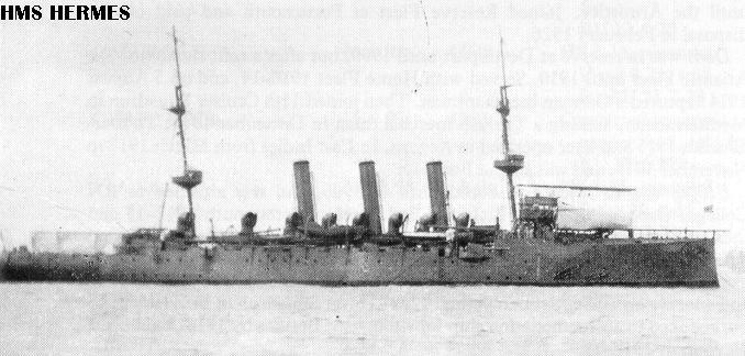 Hermes as seaplane carrier