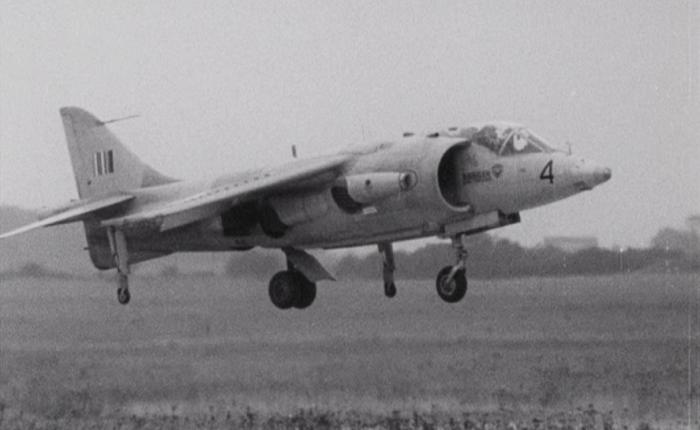 Hawker P-1127, el VTOL de combate hechorealidad