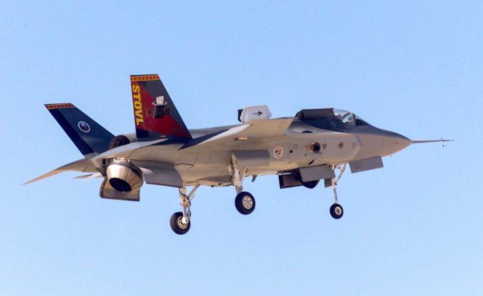 Vuela el X-35, demostrador para elF-35