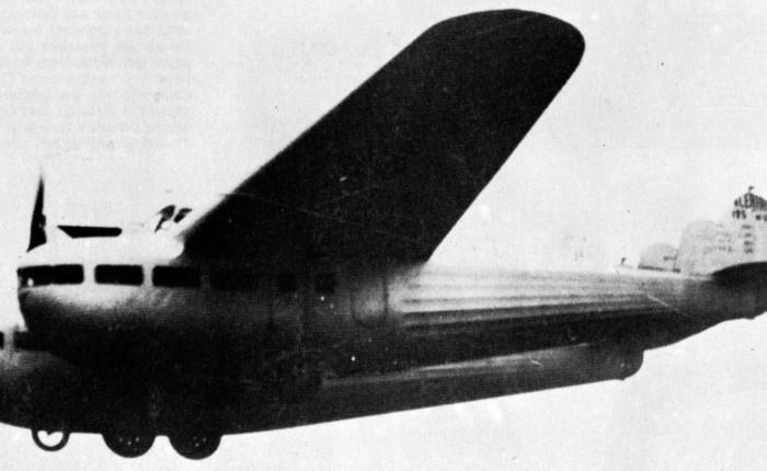 Bleriot 125, intento de diseñar un transportemoderno