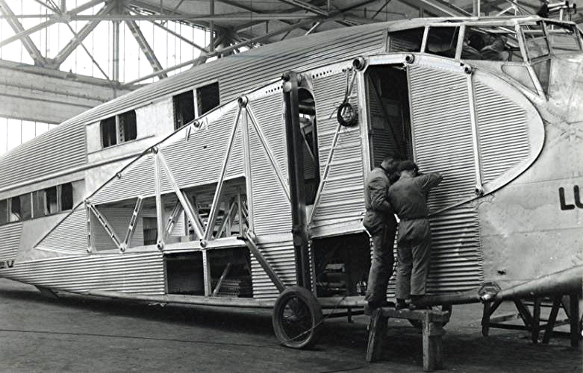 G-38 being made