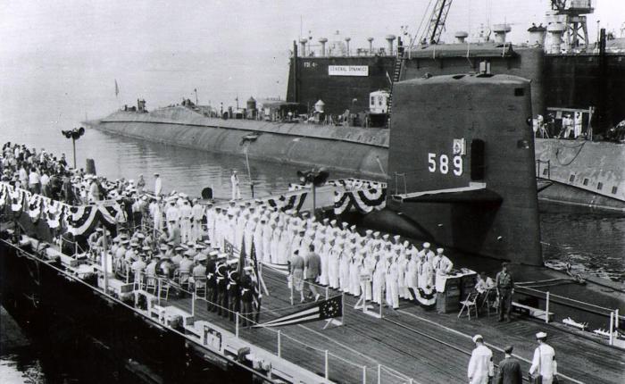 1968, un año negro para el armasubmarina