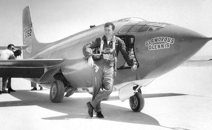 Chuck Yeager (13 febrero 1923 – 7 diciembre 2020).DEP.