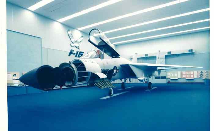 El F-15 y la competiciónFX